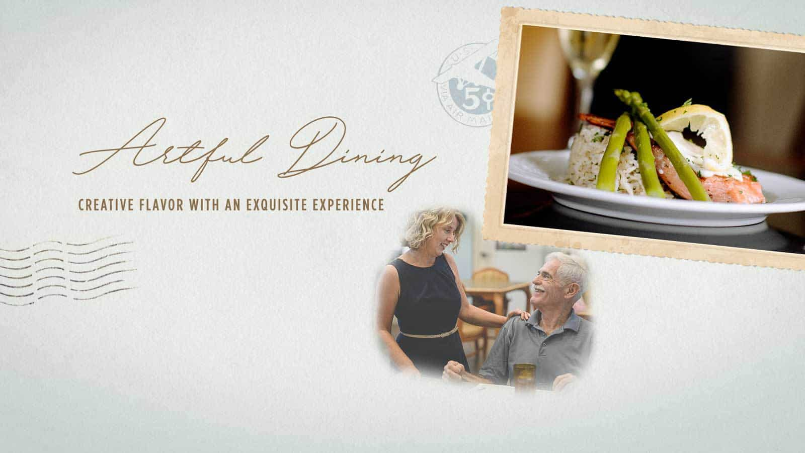 Artful Dining: Create Flavor with an Exquisite Senior Living Dining Experience