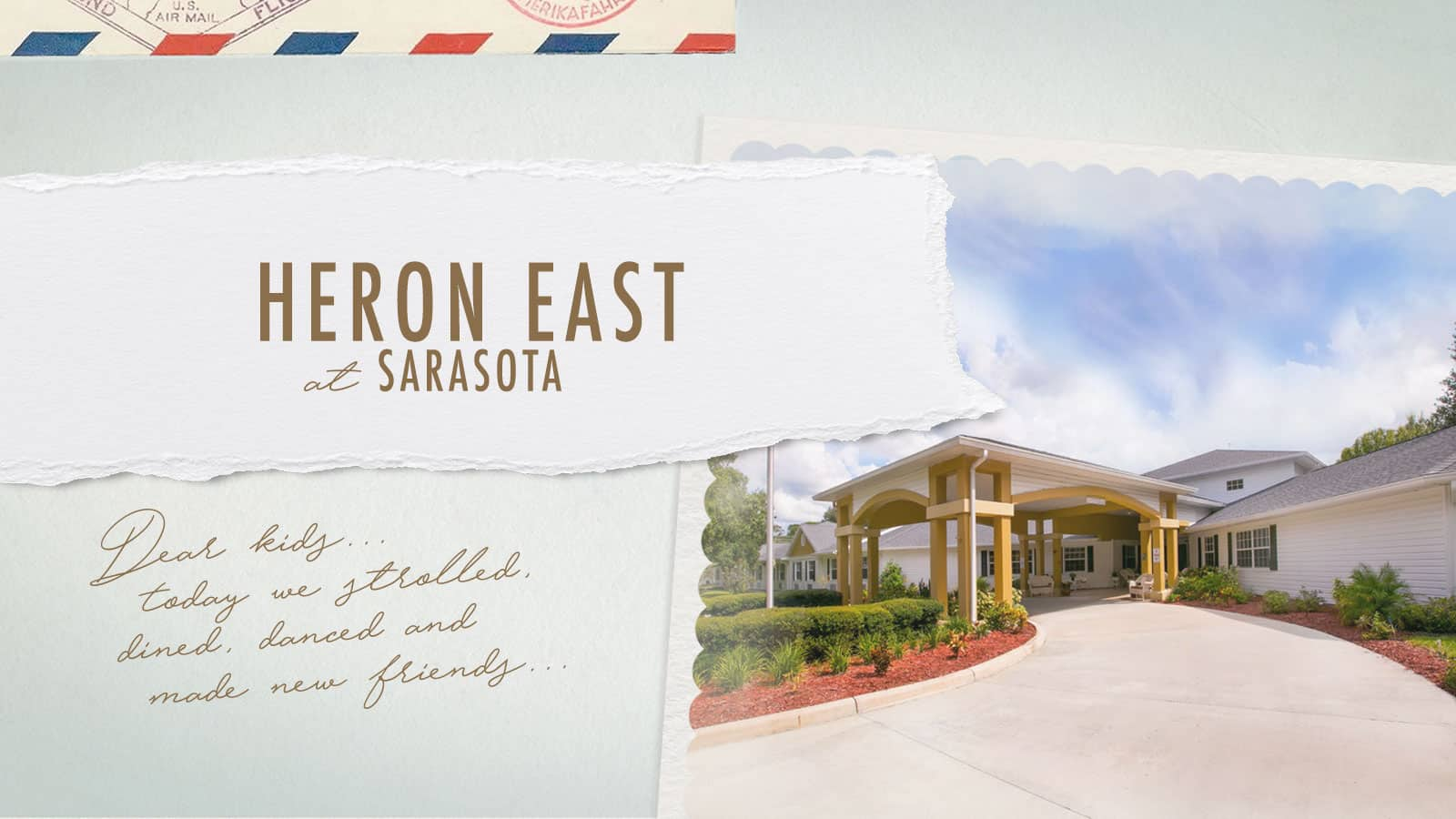Heron East Assisted Living Community in Sarasota Florida